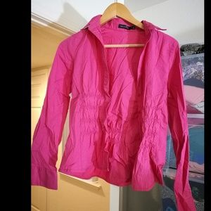The limited pink blouse/top
